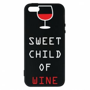 Etui na iPhone 5/5S/SE Sweet child of wine
