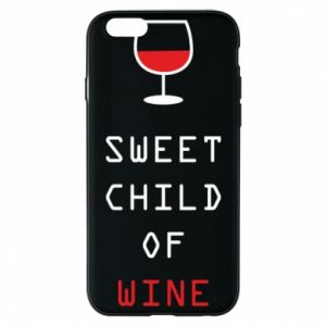 Etui na iPhone 6/6S Sweet child of wine