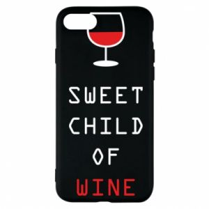Etui na iPhone 7 Sweet child of wine