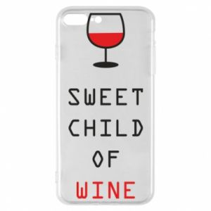 Etui na iPhone 7 Plus Sweet child of wine