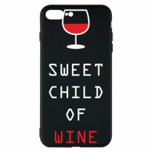 Etui na iPhone 8 Plus Sweet child of wine