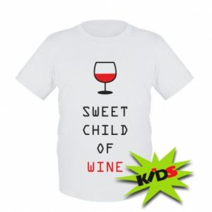 Dziecięcy T-shirt Sweet child of wine