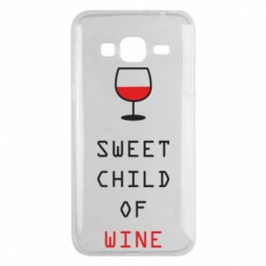 Etui na Samsung J3 2016 Sweet child of wine