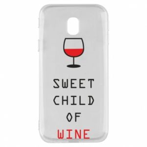 Etui na Samsung J3 2017 Sweet child of wine