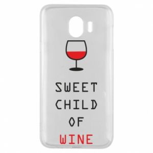 Etui na Samsung J4 Sweet child of wine