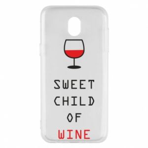 Etui na Samsung J5 2017 Sweet child of wine