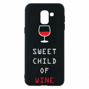 Etui na Samsung J6 Sweet child of wine