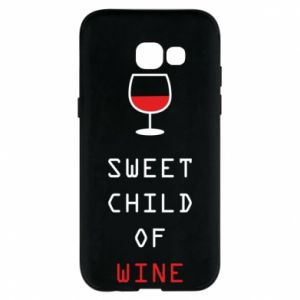 Etui na Samsung A5 2017 Sweet child of wine