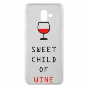 Etui na Samsung J6 Plus 2018 Sweet child of wine