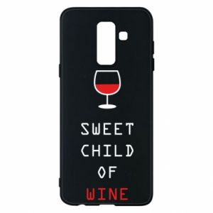 Etui na Samsung A6+ 2018 Sweet child of wine