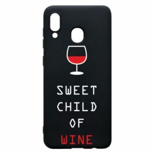 Etui na Samsung A20 Sweet child of wine