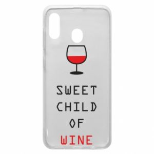 Etui na Samsung A30 Sweet child of wine