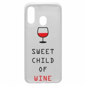 Etui na Samsung A40 Sweet child of wine