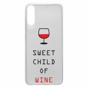 Etui na Samsung A70 Sweet child of wine