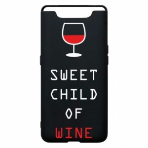 Etui na Samsung A80 Sweet child of wine