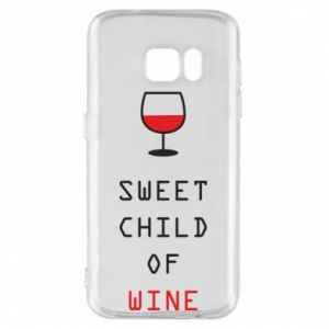 Etui na Samsung S7 Sweet child of wine