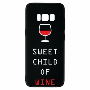 Etui na Samsung S8 Sweet child of wine