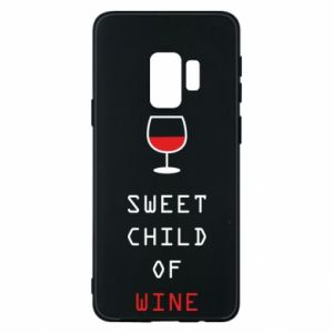 Etui na Samsung S9 Sweet child of wine
