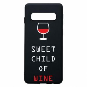 Etui na Samsung S10 Sweet child of wine