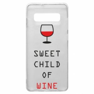 Etui na Samsung S10+ Sweet child of wine