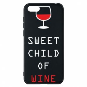 Etui na Huawei Y5 2018 Sweet child of wine