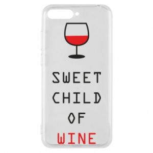 Etui na Huawei Y6 2018 Sweet child of wine