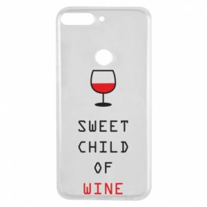 Etui na Huawei Y7 Prime 2018 Sweet child of wine