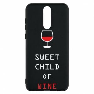 Etui na Huawei Mate 10 Lite Sweet child of wine