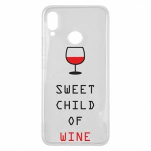 Etui na Huawei P Smart Plus Sweet child of wine