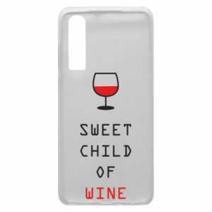Etui na Huawei P30 Sweet child of wine
