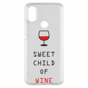 Etui na Xiaomi Mi A2 Sweet child of wine
