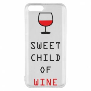 Etui na Xiaomi Mi6 Sweet child of wine