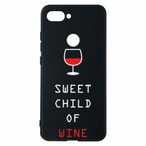 Etui na Xiaomi Mi8 Lite Sweet child of wine