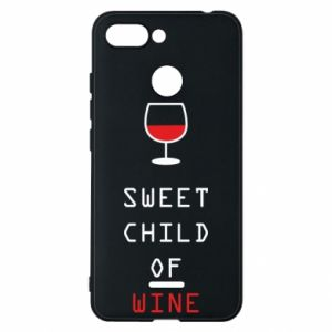 Etui na Xiaomi Redmi 6 Sweet child of wine