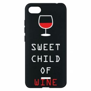 Etui na Xiaomi Redmi 6A Sweet child of wine