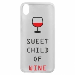 Etui na Xiaomi Redmi 7A Sweet child of wine