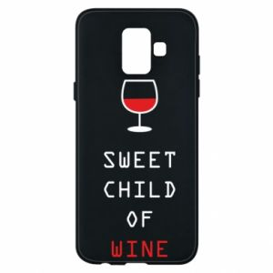 Etui na Samsung A6 2018 Sweet child of wine