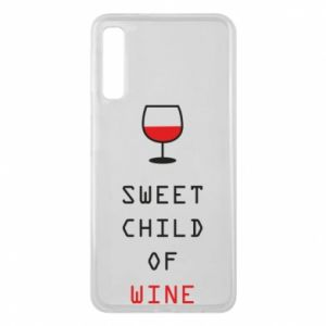Etui na Samsung A7 2018 Sweet child of wine