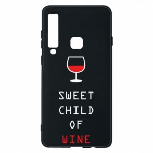 Etui na Samsung A9 2018 Sweet child of wine