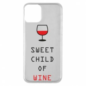 Etui na iPhone 11 Sweet child of wine