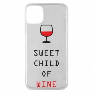Etui na iPhone 11 Pro Sweet child of wine