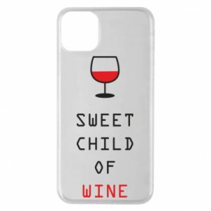 Etui na iPhone 11 Pro Max Sweet child of wine