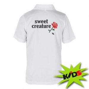 Koszulka polo dziecięca Sweet creature