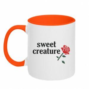 Kubek dwukolorowy Sweet creature