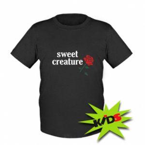 Dziecięcy T-shirt Sweet creature