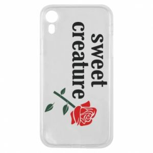 Phone case for iPhone XR Sweet creature
