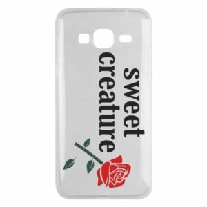 Phone case for Samsung J3 2016 Sweet creature