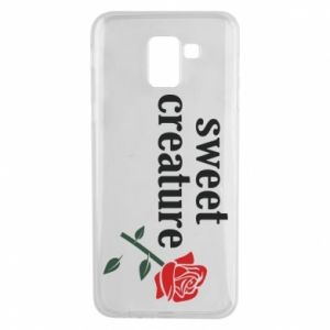 Phone case for Samsung J6 Sweet creature