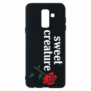 Phone case for Samsung A6+ 2018 Sweet creature