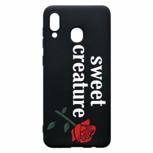Phone case for Samsung A30 Sweet creature